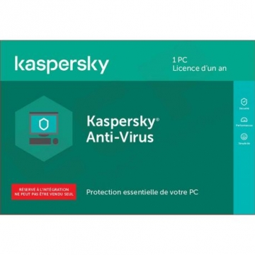 Kaspersky Antivirus 2020 - 1 PC - 1 An (OEM)