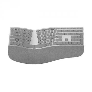 Microsoft Surface Ergonomic Clavier sans fil Bluetooth ergonomique (Clavier AZERTY FR) Gris Eco