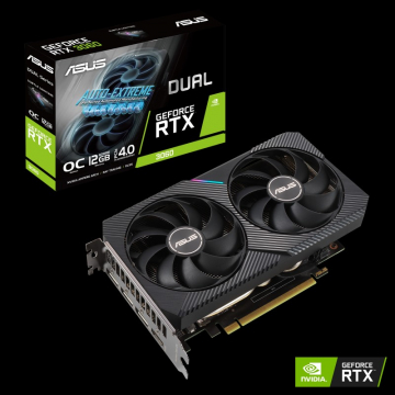 CV Asus GeForce DUAL-RTX3060-12G