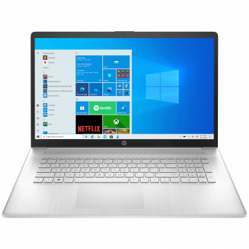 "PORTABLE 17.3"" HP Intel Core i3-1115G4 (6Mo Cache), 8Go DDR4-SDRAM, 512Go SSD, 43.9 cm (17.3"") HD+ 1600 x 900, Intel UHD Graphics, WLAN, HP TrueVision HD, Windows 10 Home 64-bit"