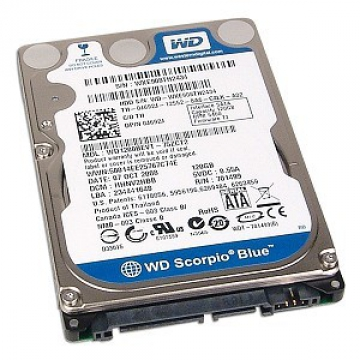 "HDD 1 To 2.5"" SATA - Western Digital - BLUE - Vitesse de Rotation 5400 Rpm - Cache HDD 1 To 2.5"" SATA - Western Digital - BLUE - Vitesse de Rotation 5400 Rpm - Cache Mémoire 8 Mo Mémoire 8 Mo"
