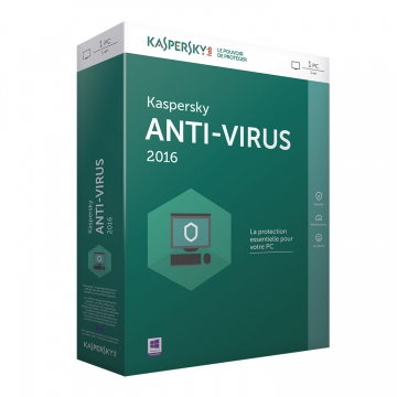 KASPERSKY Antivirus BOX 2016