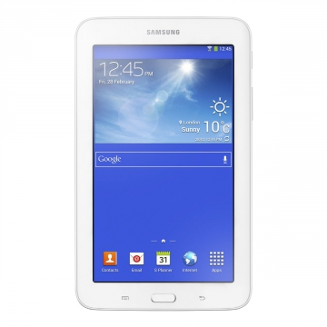 "TABLETTE TACTILE Samsung Galaxy Tab 3 Blanche T110 7"" Taxe Sorecop Incluse"