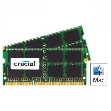 MEMOIRE SODIMM DDR3 4 Go 1066Mhz Crucial Certifié MAC