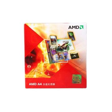 AMD Processeur A4 3400 HD6410D   2.7GHz FM1 1.0MB Cache  65W retailAMD   A4 3400 HD6410D   2.7GHz FM1 1.0MB Cache  65W