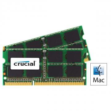 MEMOIRE SODIMM DDR3 4 Go 1333Mhz Crucial